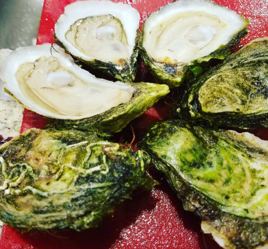 hyper-local oysters
